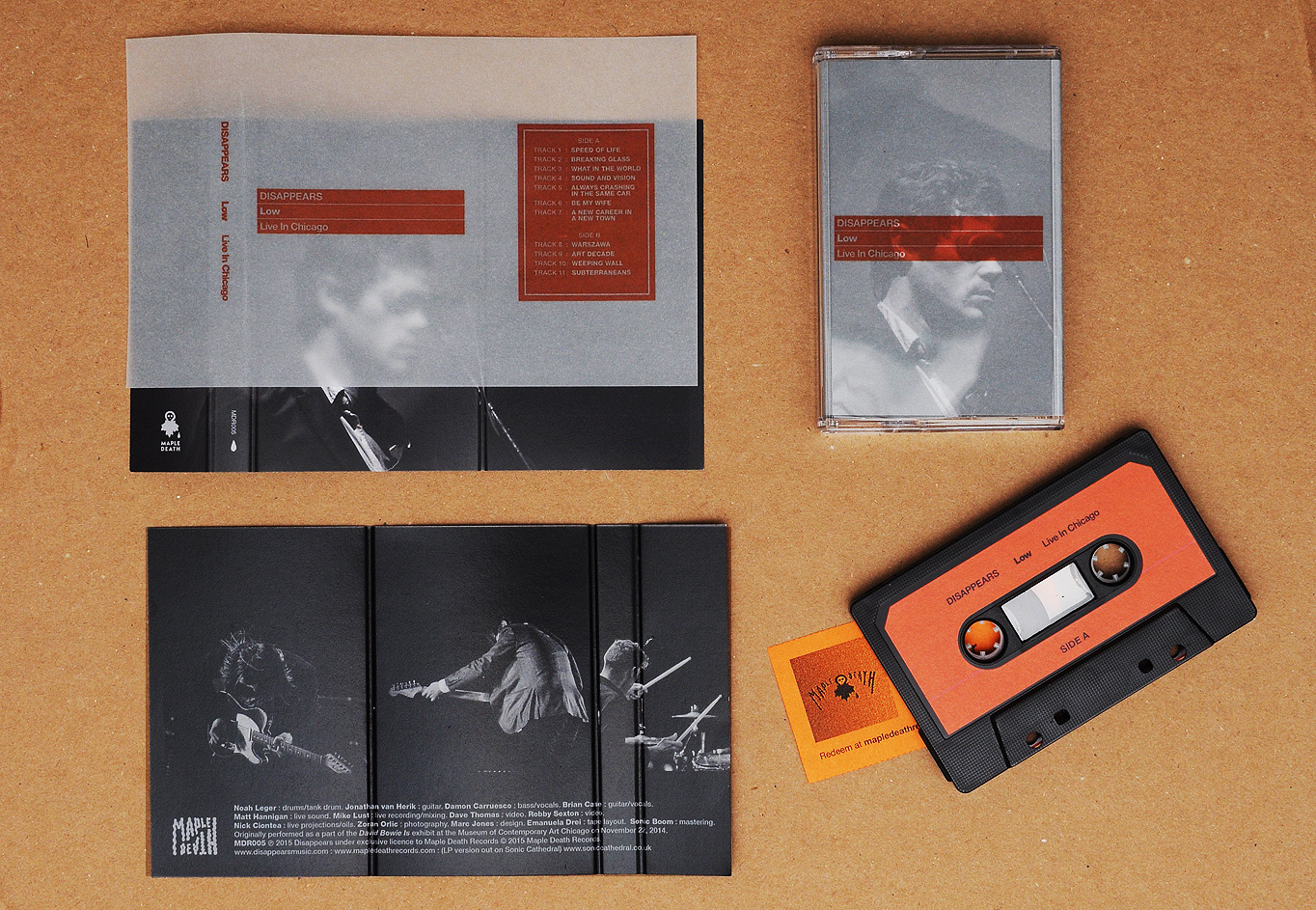 disappears tape